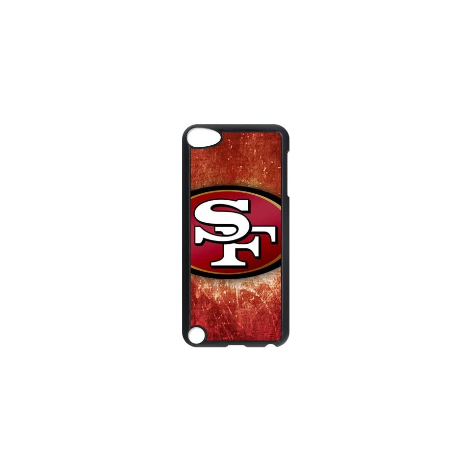 Fashionable Cool NFL The San Francisco 49ers Team Logo Durable HARD Ipod Touch 5 Case   Players & Accessories