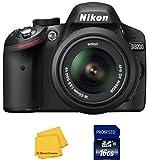 Nikon D3200 Digital SLR Camera with Nikon 18-55mm VR Lens - International Version