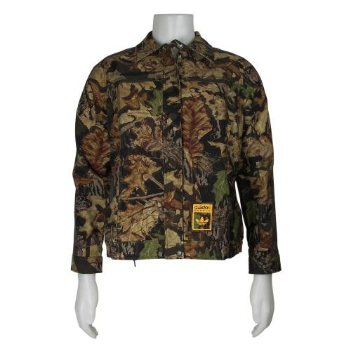 adidas Montana Camo Dark Grey Womens Outerwear Apparel - 061906