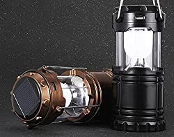 Portable Solar Charger Lantern LED Camping light Lantern Rechargeable with Charging Calbe and USB port Hand Crank Lamp Very Useful While Camping & in Emergency Power Cuts By Celbration