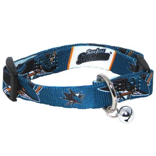 Hunter NHL San Jose Sharks Cat Collar, Small (San Jose Costume)