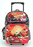 Disney Cars - 16 Rolling Backackpack - Neon
