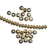Spacer 14kt Gold Filled Beads USA Made 14/20 Saucer 3.5mm (Qty-24)