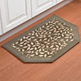 Brylanehome Memory Foam Kitchen Rug Slice