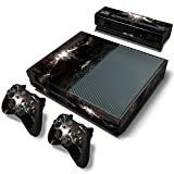 FreeSticker BATMAN VS SUPERMAN DOWN OF JOSTICE WORLD Movie Begin EXCLUSIVE Designe Full Protective Xbox One Skin with 2PCS Vinyl Skin Decals Cover for Microsoft Xbox One Controllers + for Kinect