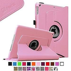Fintie iPad mini 3 / iPad mini 2 / iPad mini Case, 360 Degree Rotating Multi-Angle Stand Smart Cover with Auto Wake/Sleep Feature, Pink
