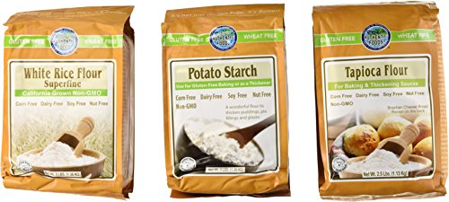 Authentic Foods Gluten Free Variety Pack (Pack of 3) (Potato Corn Starch compare prices)