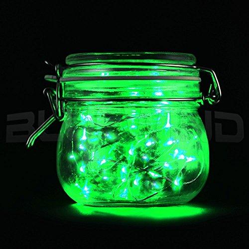 Eastchina® ultima versione 3 m/3,05 Meters 4,5 Micro LED con 30 LED Super luminosi Mini Silver Wire-Filo di luci a batteria Aa, Ultra sottile, in filo di luci LED corde, per piante in vaso per San Valentino, decorazione, ideale per matrimoni, feste, Party di compleanno per bambini, a LED, decorazioni da parete, motivo New Year, confezione Decorazione porta regalo flessibile, 10 m di filo di rame, funzionamento a batteria, con 30 LED, luci