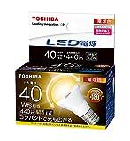 東芝 LED電球 ミニクリプトン形 広配光タイプ 電球色40W形相当  LDA5L-G-E17/S/40W LDA5L-G-E17/S/40W