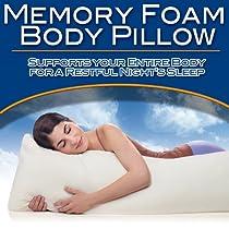Best Buy Memory Foam Body Pillow By Soft   Bed Pillow best
