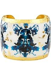 Evocateur Rorschach Black & Blue Cuff