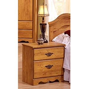 Prairie 2-Drawer Nightstand