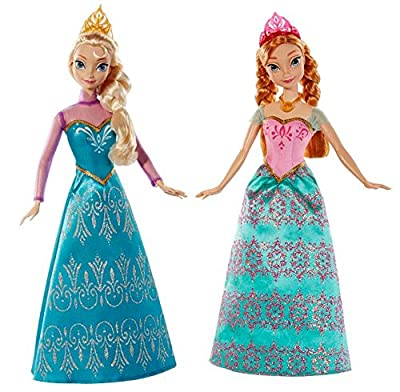 Disney Frozen Royal Sisters Doll (2-Pack) by Mattel