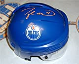 Taylor Hall Autographed/Hand Signed Edmonton Oilers Mini-helmet at Amazon.com