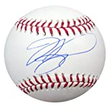 MIKE PIAZZA AUTOGRAPHED OFFICIAL MLB BASEBALL LOS ANGELES DODGERS JSA STOCK #28129