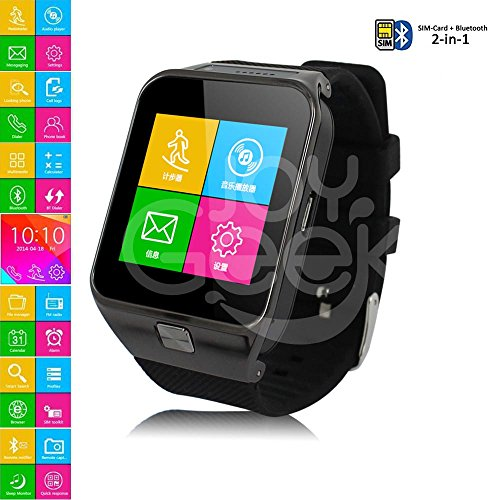 CNPGD-All-in-1-Watch-Cell-Phone-Smart-Watch-Sync-to-Android-IOS-Smart-Phone