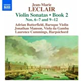 Leclair: Violin Sonatas, Book 2 - Nos. 6-7 and 9-12