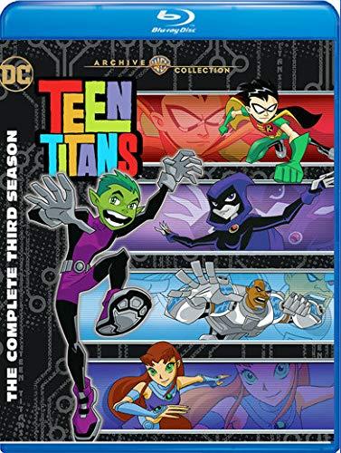 Blu-ray : Teen Titans: Complete Third Season