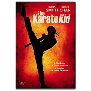 "This remake of the 1984 movie, ""The Karate Kid"", stars Will Smith's son Jaden, and is executive produced by Will Smith."