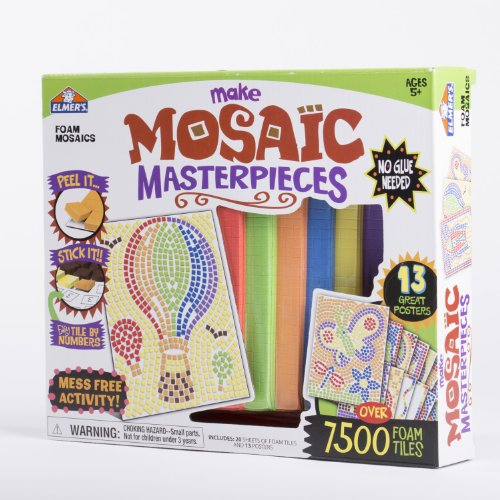 Mosaic Art Activity Kit , Large