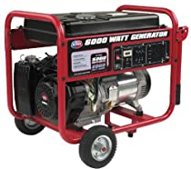 Hot Sale All Power America APGG6000 6,000-Watt Gas Powered Portable Generator