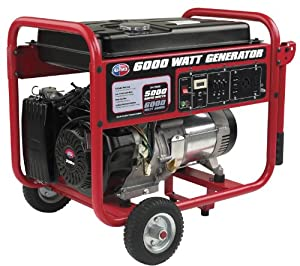 All Power America APGG6000 6,000-Watt Gas Powered Portable Generator