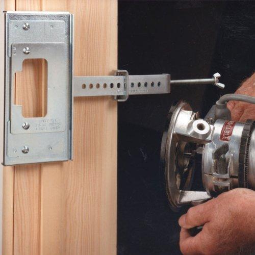 Milescraft 1293 Interior Door Mortising Kit For 1 3 8 Inch
