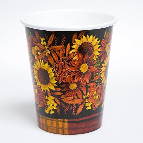 Autumn Floral Cups