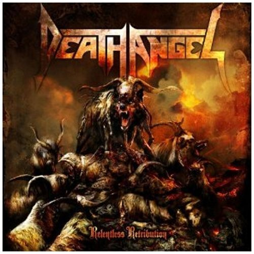Relentless Retribution by Death Angel (2010) Audio CD