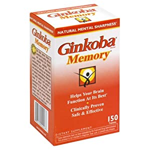 Ginkoba Memory Ginkoba 150 Tabs
