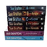 Sue Grafton Kinsey Millhone Mystery Series Collection Sue Grafton 7 Books Set (F is for Fugitive, G is for Gumshoe, H is for Homicide, E is for Evidence, A is for Alibi, B is for Burglar, C is for Corpse)