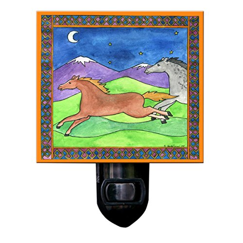 Wild Horses Night Light
