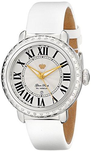 Glam-Rock-Womens-GR77046DSS-Bal-Harbour-Analog-Display-Swiss-Quartz-White-Watch