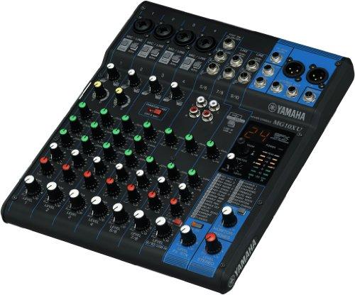 Yamaha mg10xu 10 input stereo mixer usb w dynamic for Yamaha mg10xu usb cable
