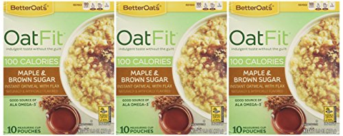 Better-Oats-OAT-FIT-Instant-Oatmeal-MAPLE-BROWN-SUGAR-98oz-3-Pack