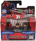 Marvel Minimates Amazing SpiderMan Movie Series 46 SpiderMan Peter Parker