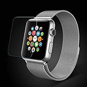 CRW Tempered Glass Screen Protector for Apple Smart Watch (42 mm)