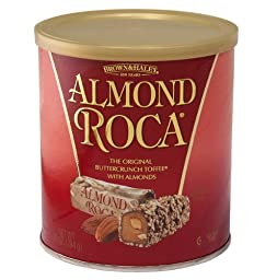 10 oz ALMOND ROCA Canister - Case of 9 Canisters