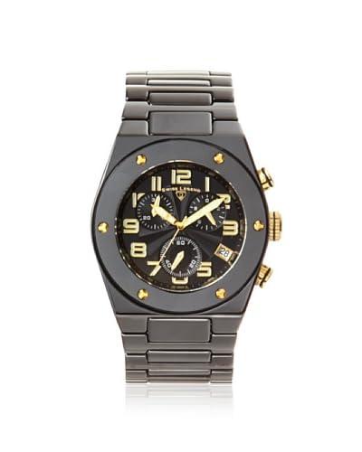 Swiss Legend Men's 10028-BKBGA Throttle Black Ceramic Watch