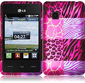 Amazon.com: For LG 840G LG840G Hard Graphic Design Cover Case Pink