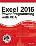 Excel 2016 Power Programming with VBA...