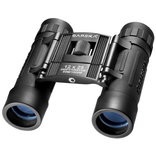 Barska Lucid 12X25 Compact Binocular (Black)