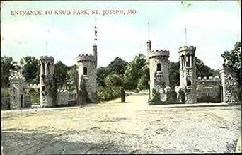 Entrance To Krug Park St Joseph Missouri Original