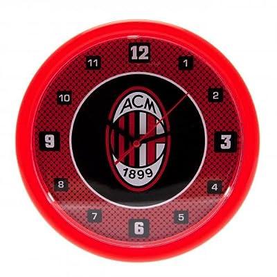"""Football Team """"Bullseye"""" Wall Clock AC Milan"""