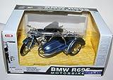 Toyway - BMW R69S Motorbike & Sidecar Model (Blue) Scale 1:18