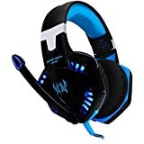 [Latest Version Gaming Headset For PS4] VersionTech KOTION EACH G2000 USB 3.5mm Game Gaming Headphone Headset...