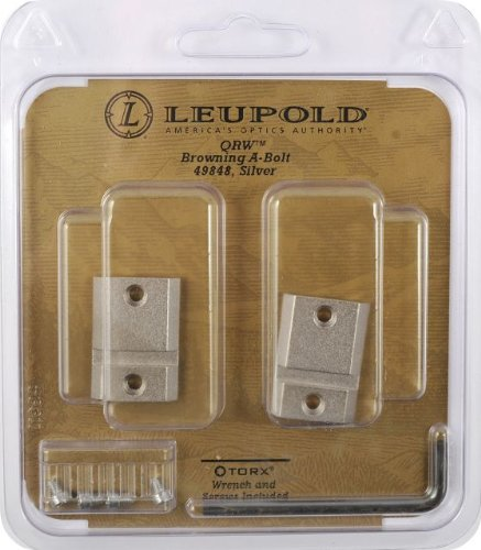 Leupold Qrw Browning A-Bolt 2-Pc, Silver