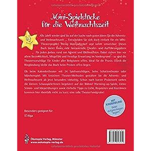 Mini-Spielstücke für die Weihnachtszeit: Schnelle Aufführungen vom Stuhlkreis-Theater b