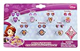 Disney Junior Sofia the First - 7 Day Ring and Earring Set (1 set)