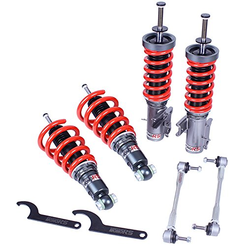 Godspeed ( MRS1402 ) CHEVROLET CAMARO 10-15 V6 / V8 /SS MONORS COILOVERS SUSPENSION W/ 32 precise levels of damper adjustment (Camaro Coilovers compare prices)